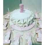 Şeker Hamurlu Pasta Bir Yaş Temalı 10 Kişilik