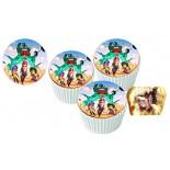Brawl Stars  Cupcake Resimli Yenilebilir 10 Adet