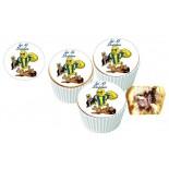 Fenerbahçe Espirili Cupcake Resimli Yenilebilir 10 Adet