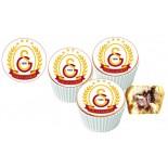 Galatasaray  Cupcake Resimli Yenilebilir 10 Adet