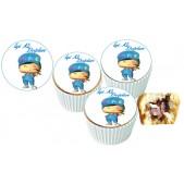 Pepe Cupcake Resimli Yenilebilir 10 Adet