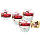 Şimşek Meccuen Cupcake Resimli Yenilebilir 10 Adet
