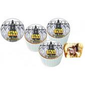 Starwors Cupcake Resimli Yenilebilir 10 Adet