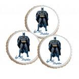 Şeker Hamurlu Resimli Batman Yenilebilir Kurabiye