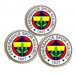 Şeker Hamurlu Resimli Fenerbahçe Yenilebilir Kurabiye