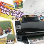 Fotoğrafınızı Siz gönderin Pasta Üzerine Fotoğraf Baskısı Pirinç Kağıdına