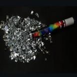 Gümüş Metalik Konfeti 30 cm