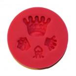 Kral, Kraliçe Tacı Silikon Seti