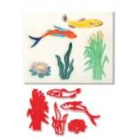 Balık Modelli Pecwork Baskı Deseni