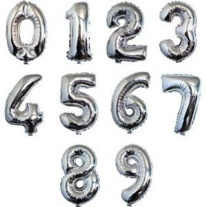 Sekiz Rakam Folyo Balon 1 Metre
