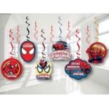 Spidermen Sarkıt Süs 6 Parça