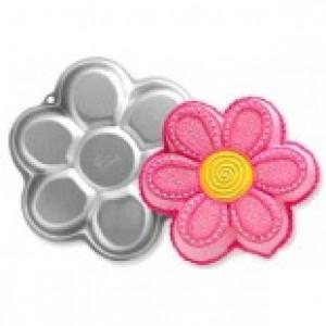 Çiçek Kek Kalıbı Aliminyum
