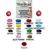 Blue Bead Kırmızı Şeker Hamuru 250 gr