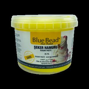 Blue Bead Koyu Sarı Şeker Hamuru 1 kg