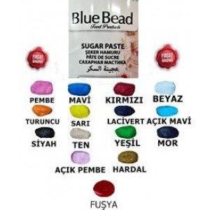 Blue Bead Yeşil Şeker Hamuru 250 gr