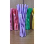 Kağıt Pipet Lila Renk 25 Adet