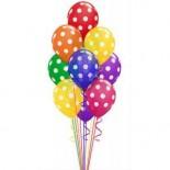 Balon Karışık Puantiyeli 5 Adet