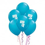 Balon İlk Diş  Mavi 5 Adet