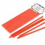 Kağıt Pipet Kırmızı Renk 25 Li