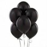 Siyah Renk Balon 5 Adet
